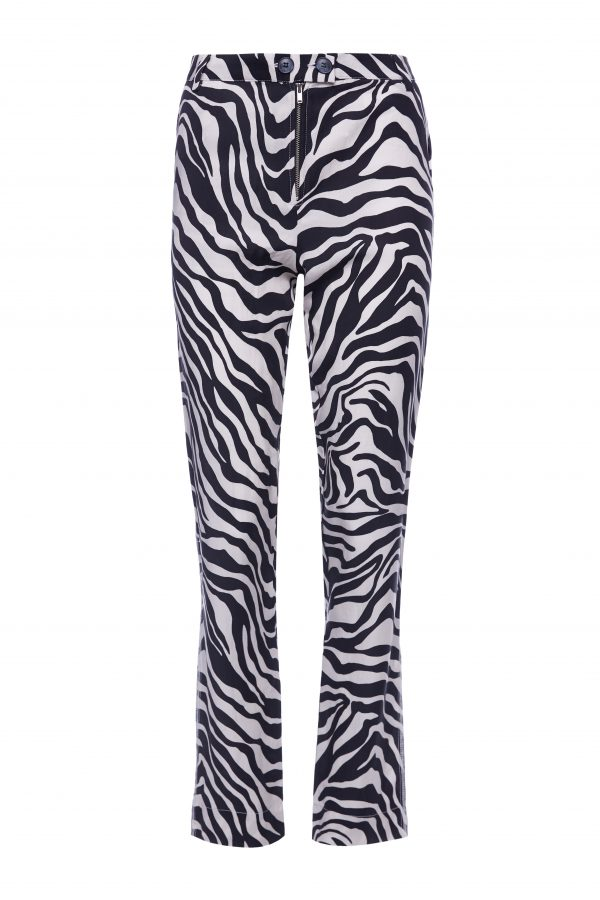 Franky - White Zebra Pants